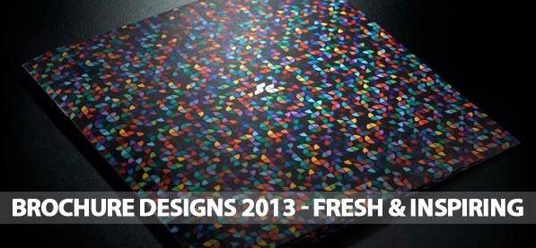 Brochure Designs 2013 – Fresh & Inspiring