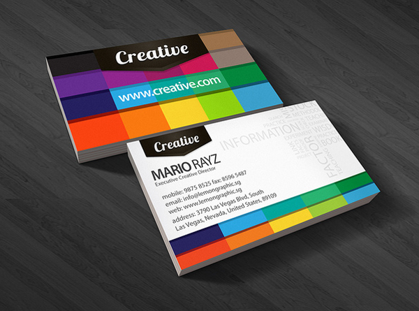 Corporate Business Cards Design 2013 - 13