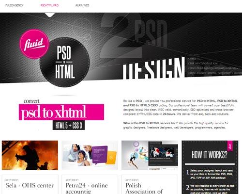 Inspiring HTML5 Web Design  - 42