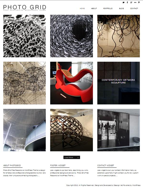 Photogrid Responsive WordPress Themes - 10