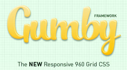 Gumby Responsive CSS Framework With A Web UI Kit