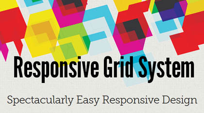 Responsive Grid System: For Easy Responsive Design
