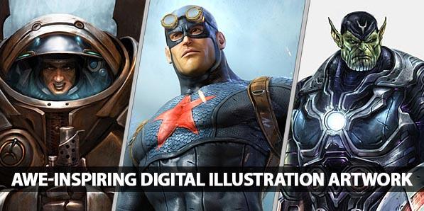 26 Awe-Inspiring Digital Illustration Artwork