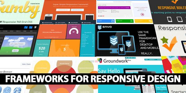 25 Useful Responsive Frameworks For Front-End Design