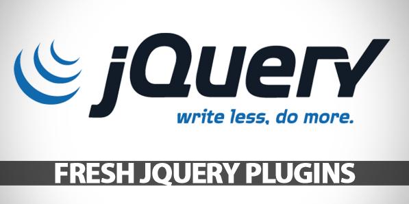 10 Fresh jQuery Plugins for Designers & Developers