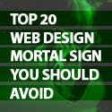 Post thumbnail of Top 20 Web Design Mortal Sins You Should Avoid