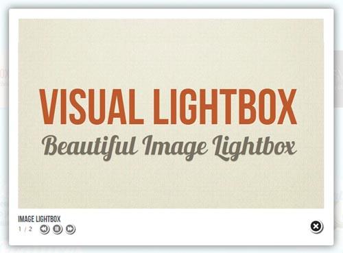 Beautiful jQuery Lightbox
