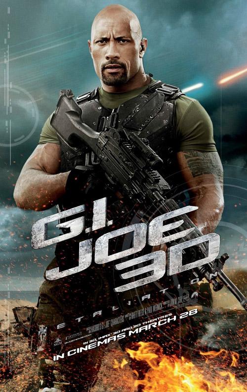 G.I. Joe Retailation movie posters