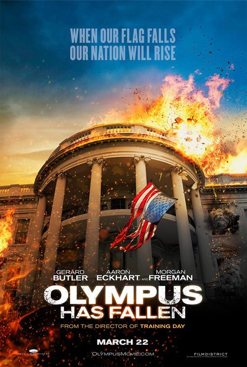 Olympus Has Fallen movie posters