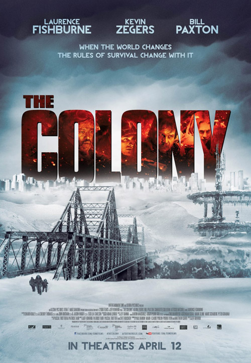 The Colony  movie posters