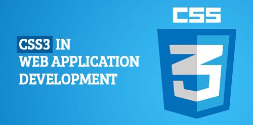 CSS3 in web application development