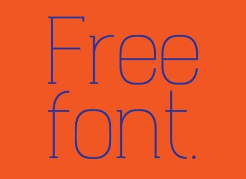 Free fonts 2013-14