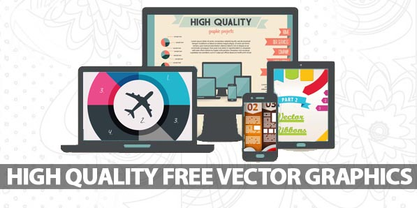 25 High Quality Free Vector Graphics & Vector Elements