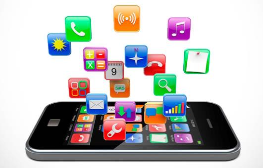 iPhone apps logos