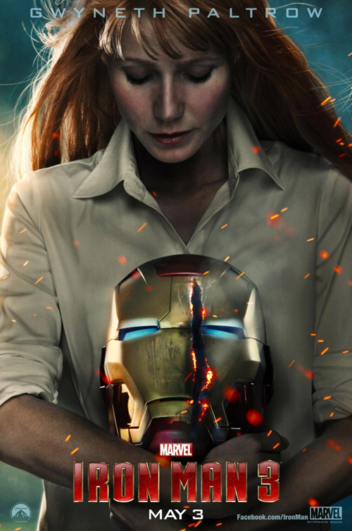 Iron Man 3 movie posters