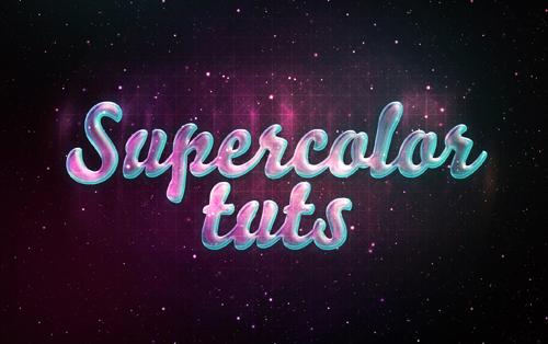 Photoshop typography tutorials - 16