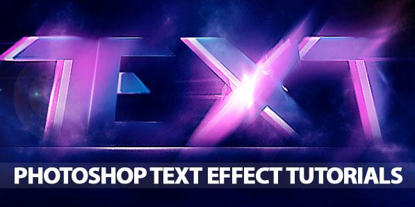 Photoshop Tutorials – Improve Typography Skills with Text Effect Tutorials