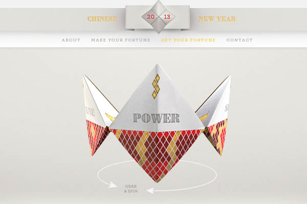 Inspiring Webdesign Trends 2013-11