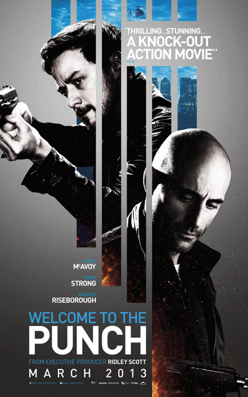 Welcome to the Punch movie posters