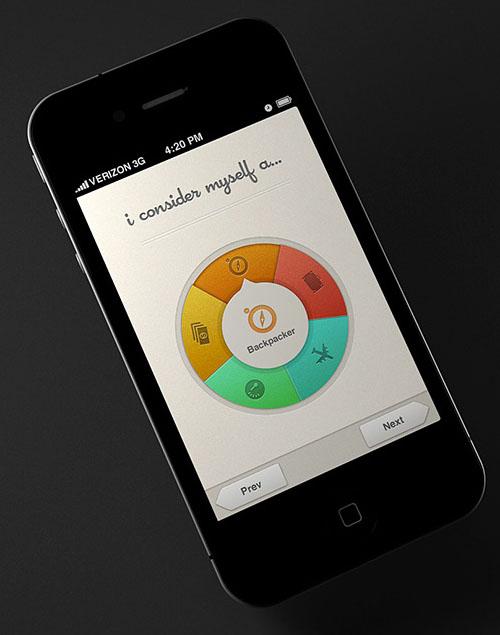 Fancy Spinner Wheel UI-UX Design concept