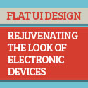 Post Thumbnail of Flat UI Design - Rejuvenating the Look of Electronic Devices