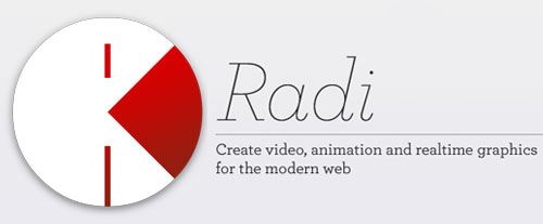 Radi: Visual Design Application with HTML5 and Javascript