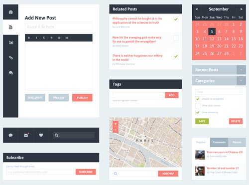 Free Psd UI Kits For Web and Mobile-21
