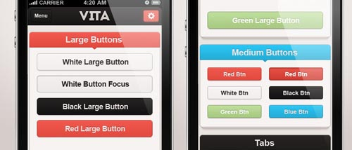 Free Psd UI Kits For Web and Mobile-34