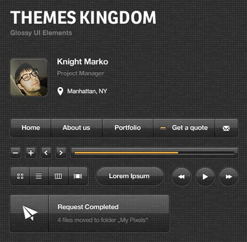 Free Psd UI Kits For Web and Mobile-7