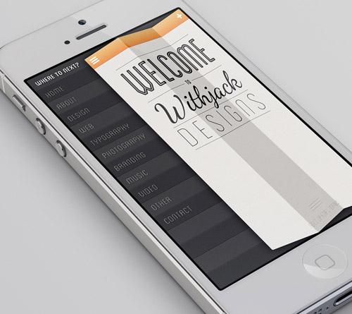 Portfolio iPhone App