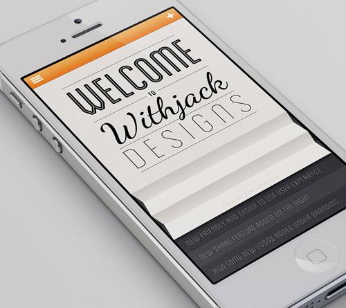 iPhone App UIUX Design Concept