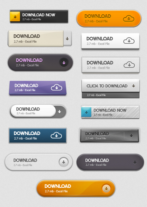 Free PSD Buttons-36
