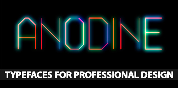 50 Remarkable Typefaces for Professional Design