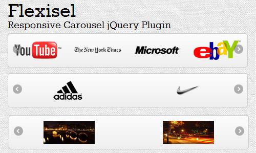 Flexisel: Responsive Carousel jQuery Plugin