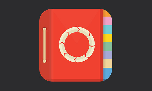 Plan of Work Flat iOS Icon