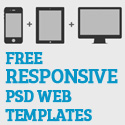 Post thumbnail of Free PSD Responsive Web Templates