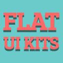 Post thumbnail of High Quallity Free Flat UI Kits For Designers