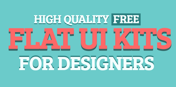 High Quallity Free Flat UI Kits For Designers
