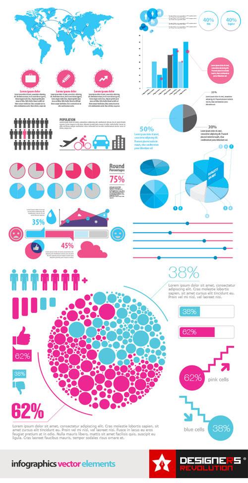 Infographic Vector elements Vector Graphics