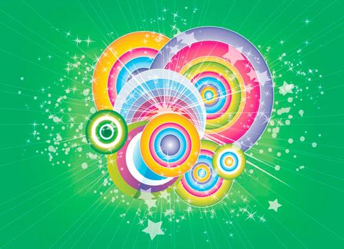 Magic Illustrator Decorative Elements Vector Graphics