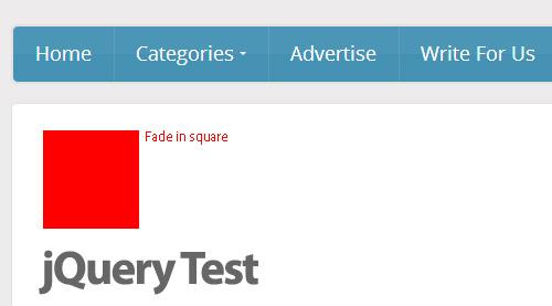 jQuery Test