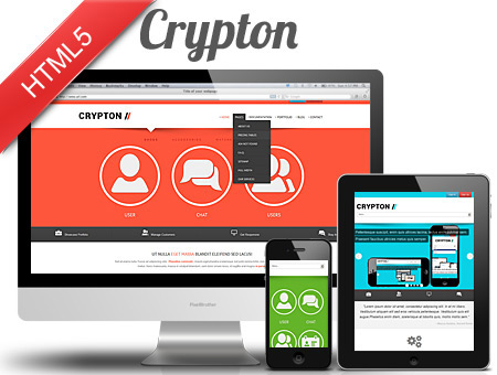 Crypton Responsive Corporate Web Template