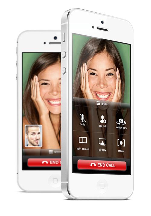 FaceTime iOS 7 Concept