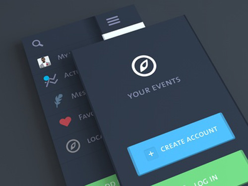 Flat Mobile UI Design and UX-11