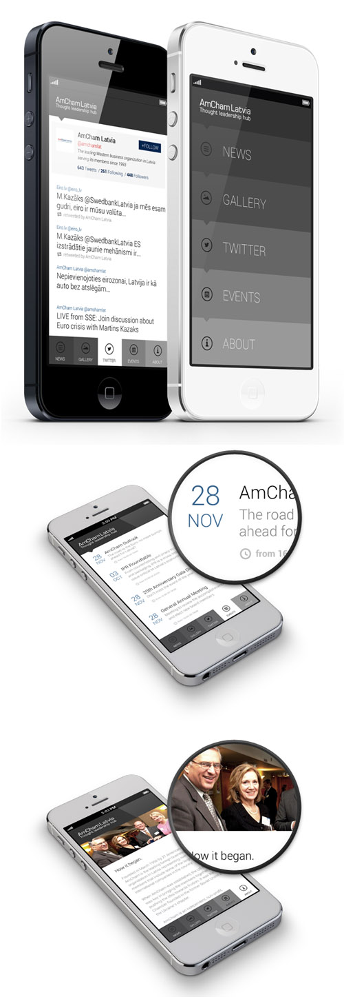 Flat Mobile UI Design and UX-26