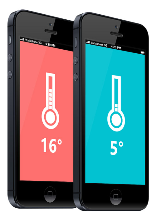 Flat Mobile UI Design and UX-28