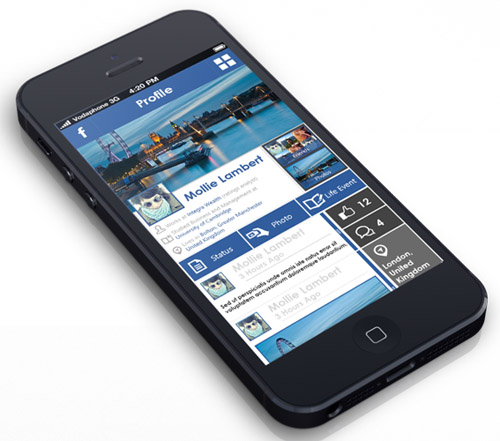 Flat Mobile UI Design and UX-29