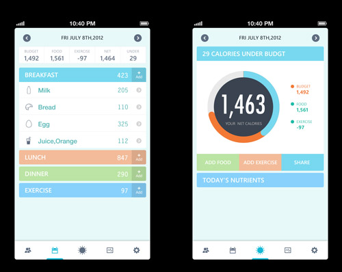 Flat Mobile UI Design and UX-40