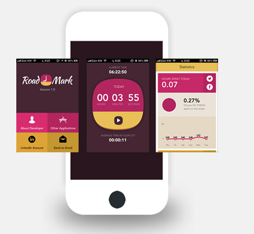 Flat Mobile UI Design and UX-43