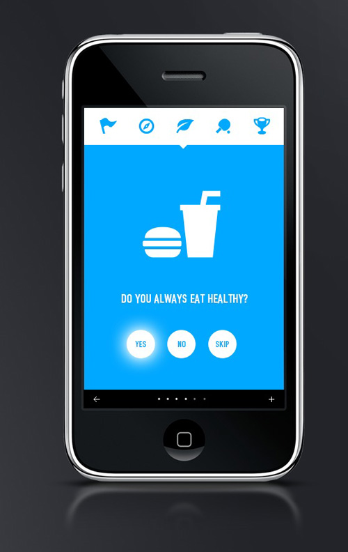 Flat Mobile UI Design and UX-5